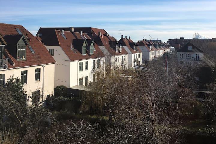 Lovely attic apartment in Copenhagen.
