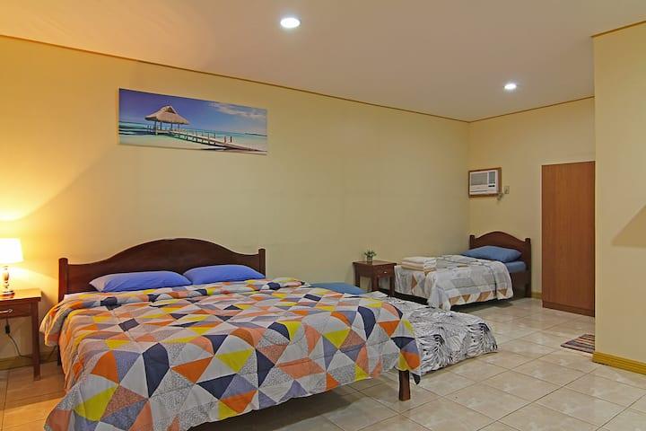 The Barefoot Alona Resort- Family Room 1