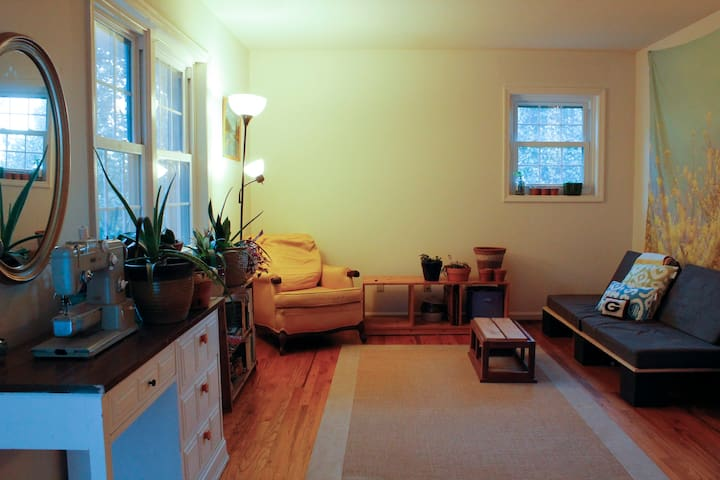 Cozy Plant Filled Apt, Close to UGA Campus + DT - Athens - Apartment