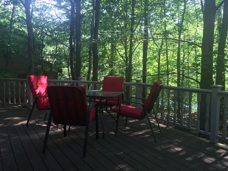 Enjoy on our beautiful porch!