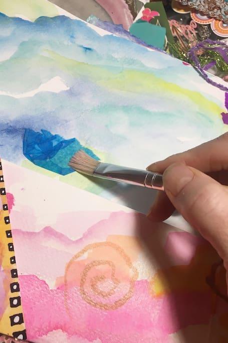 Layering techniques