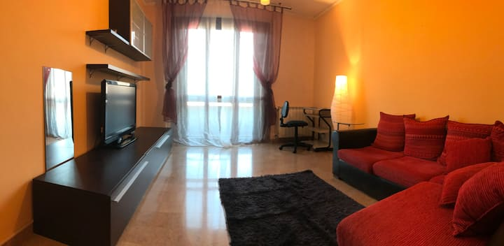 Cozy free park apartment with view in Prato.