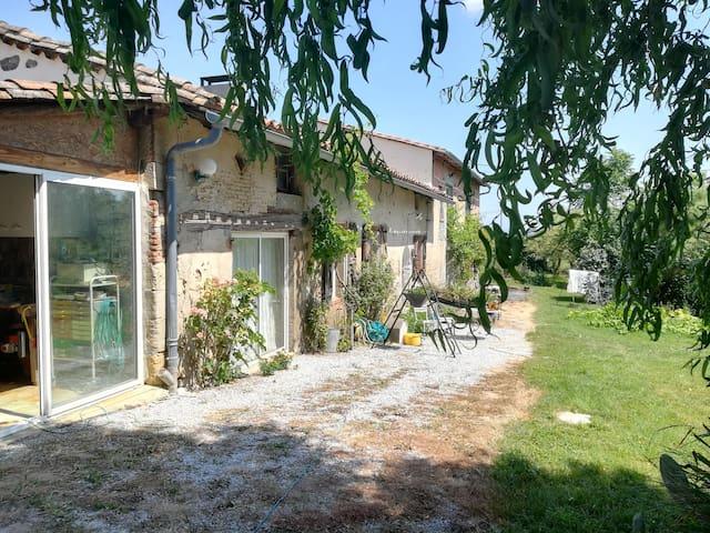 Gîte à la ferme Tarn / Haute Garonne : Toulouse...