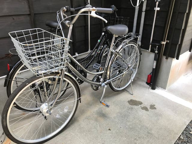 Welcome to use the bicycles