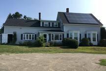 Our farm is solar powered.
