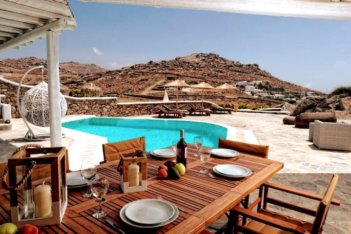 5*****Villa With Pool and Infinity Aegean Sea View