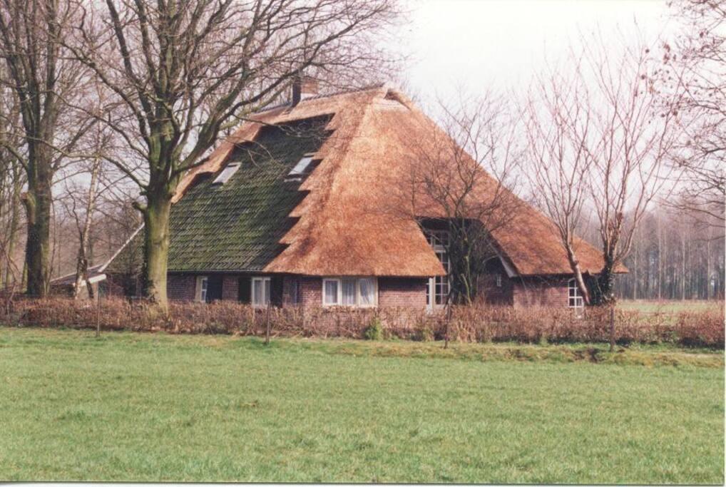 Vakantie boerderij houten huisje te huur in baak for Opknap boerderij te koop gelderland