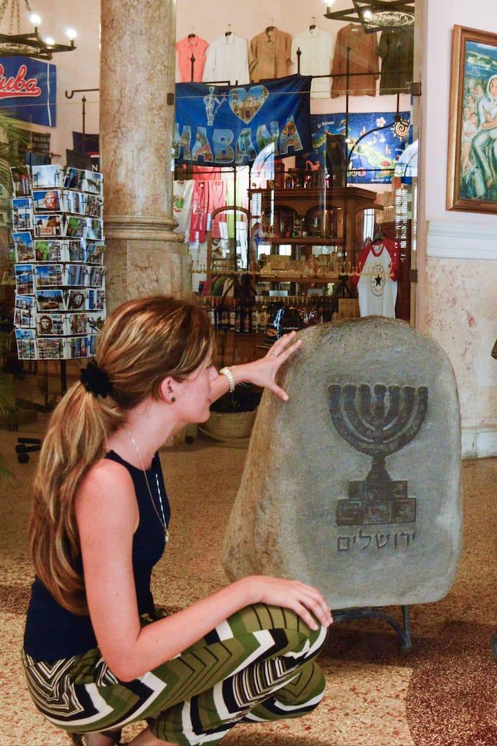 A gift from Jerusalem