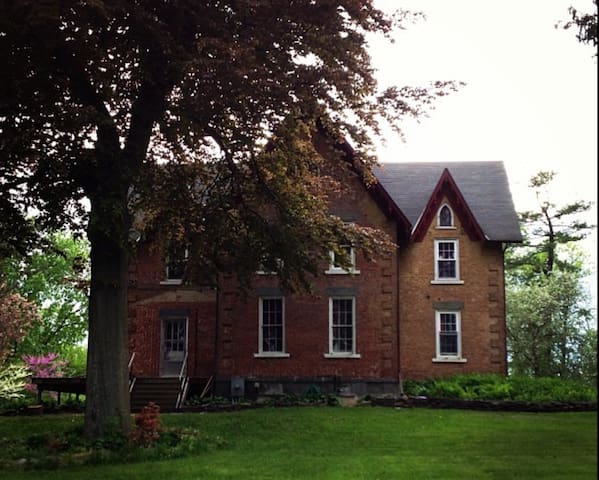 3 bedroom 2 story private apt in Gothic Victorian