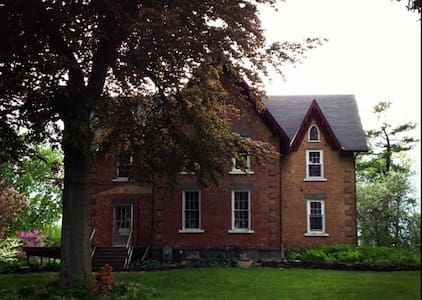 3 bedroom 2 story private apt in Gothic Victorian - Coxsackie