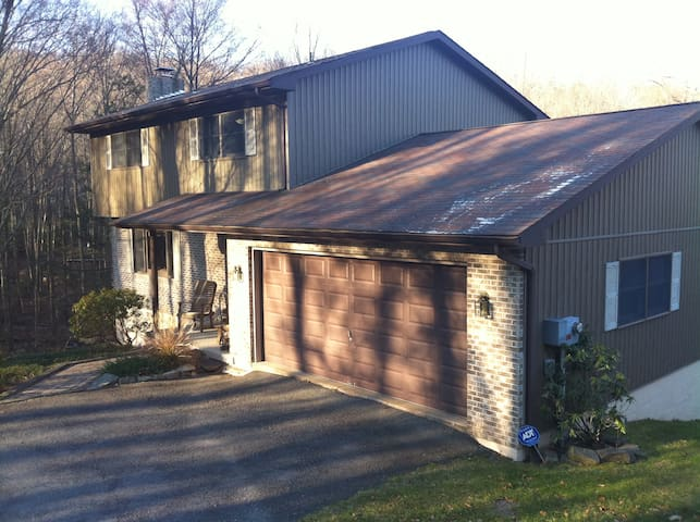 Lake Wallenpaupack Lake Front Home - Greentown - Talo
