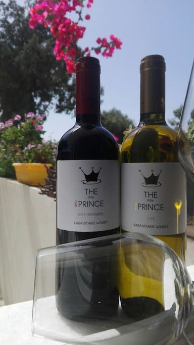 In our home you will be able to try some of cretan wine varieties.