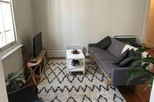 Heart of Bondi, retro-chic sunny room