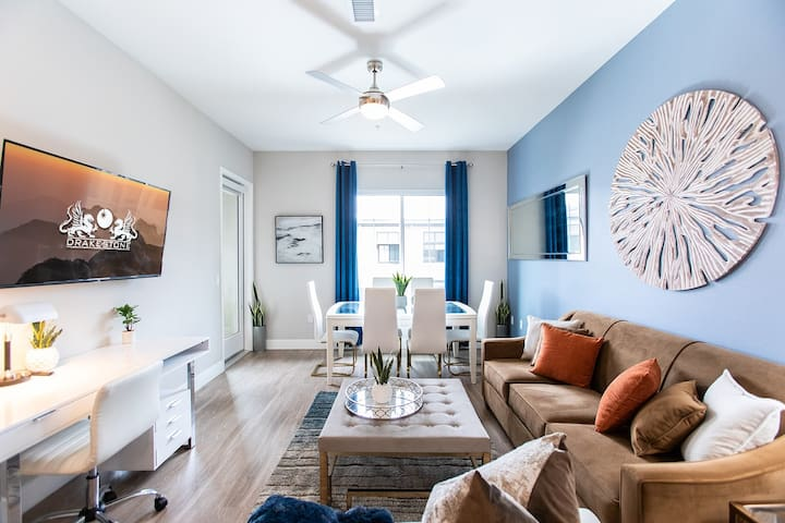 ⭐NEW Sparkling Clean⭐2 bed/2Bath,Fast Wifi