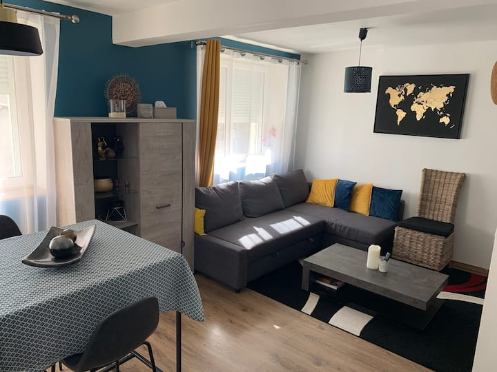 Appartement cosy et lumineux avec parking privatif