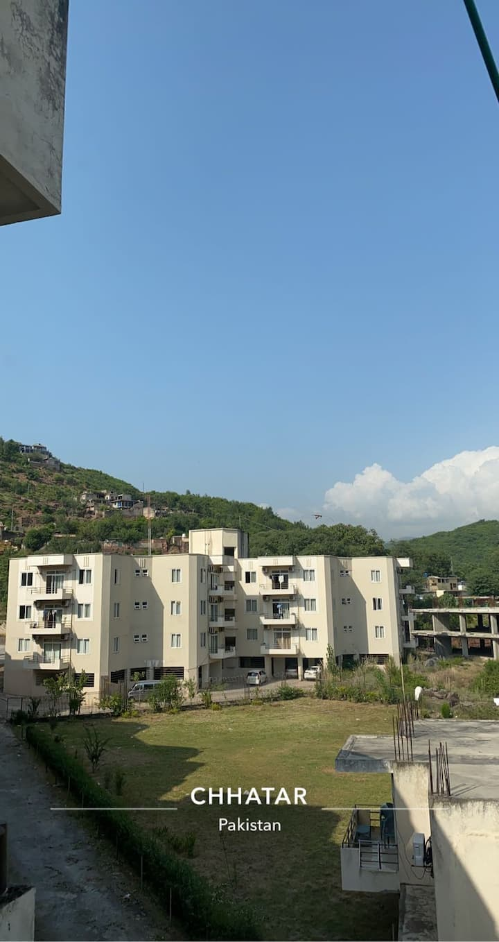 Mountain and lake view apartments chattar