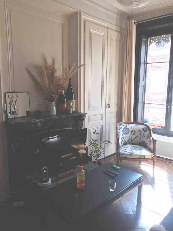 Joli appartement dans quartier tranquille
