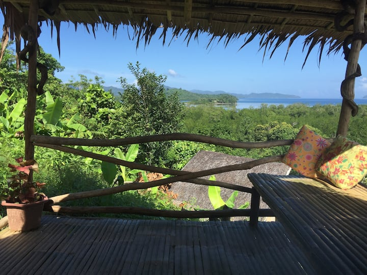 Overlooking Jungle bar Resto & Hut