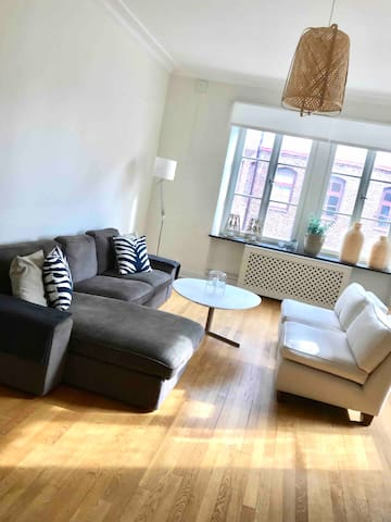 Spacious lovely flat, top location in Gothenburg
