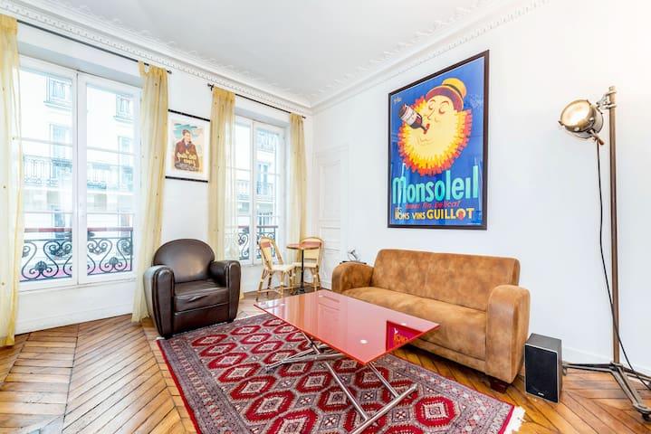 Superb in SoPi (St Georges-Martyrs) - Paris - Apartmen