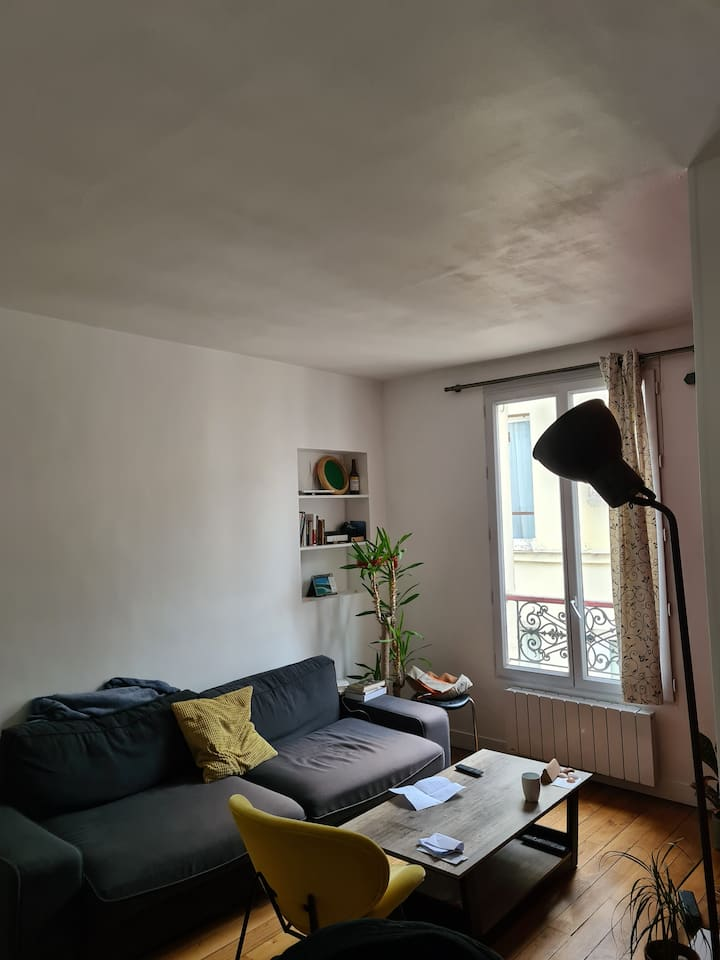 40m2 4Heart of Batignolles Apartment 2-3 months