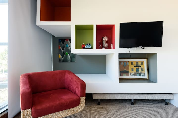 Chair and Tv