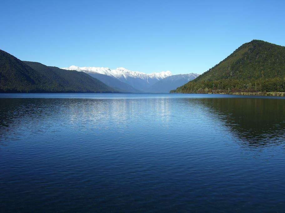 Nelson Lake Rotoroa NZ