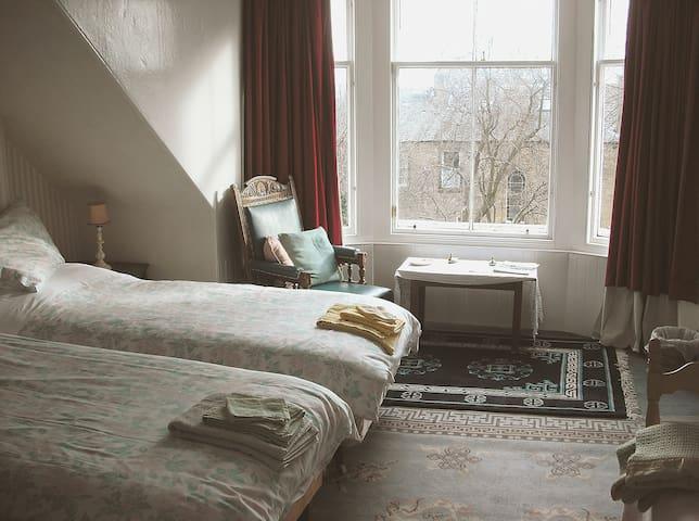 Twin Room, Central Edinburgh B&B - Edimburgo - Bed & Breakfast