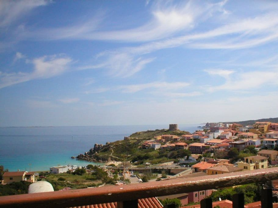 visdta mare - sea view on Sardinia Channel nad Corsica island