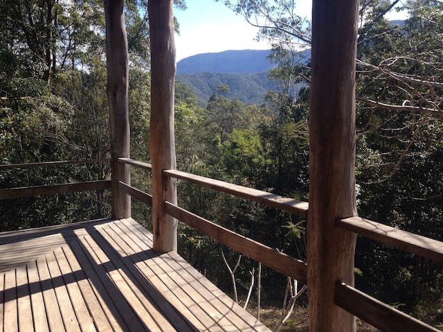 Mountain View Rainforest Cottage - Crystal Creek