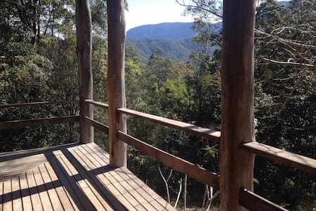 Mountain Rainforest Cottage Retreat - Crystal Creek