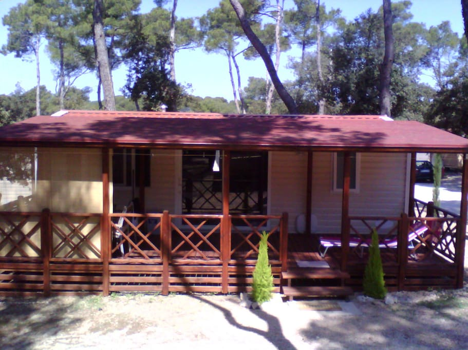 2 Bedroom Mobile Home 1 6 Persons Bungalows For Rent In Biograd Na Moru Zadar County Croatia