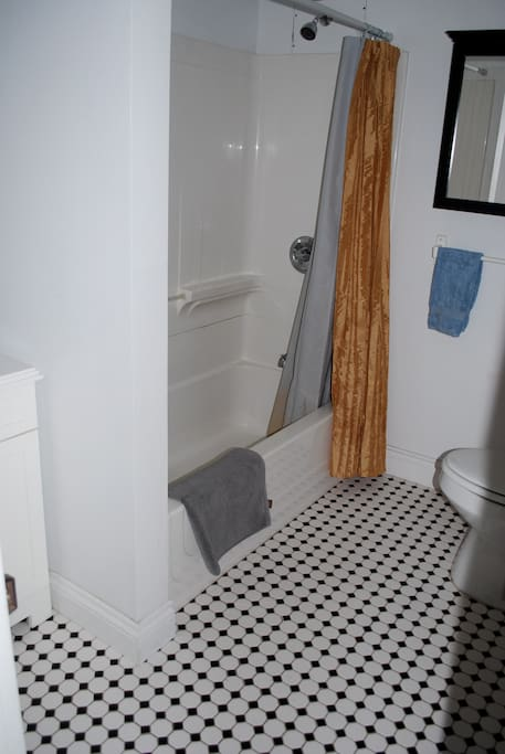 Private, adjoining  bathroom