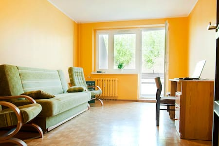 Nice room with balcony, for 2 prs - Познань