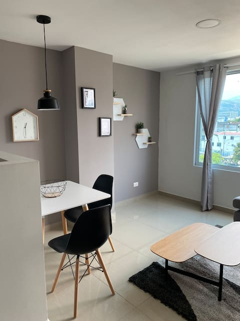 Lindo, moderno y acogedor apartamento.