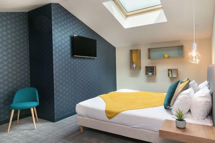 Hôtel Nap*** Duplex room for 4 - heart of Nice