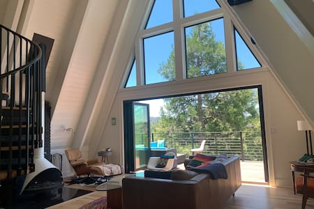 Airy A-frame Home with Vast views!