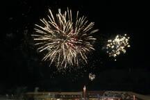 During summer season you will enjoy regular fireworks displays visible across Sunny Beach bay