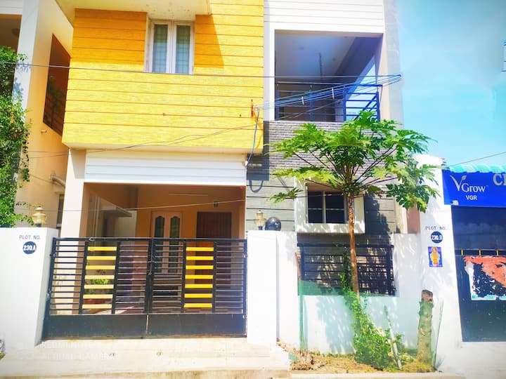 Airport/Kitchen/F Wifi/Center2 MAHABS/PONDICHERRY