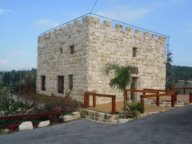 The Castle of Zippori - Tsipori - Şato