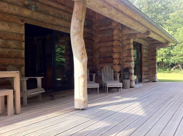 Maison bois en lisière de forêt   - Beaumont-le-Roger - House