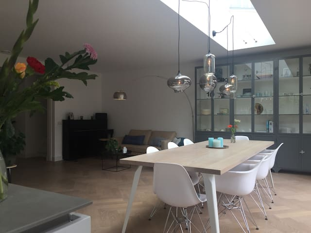 Hip and cosy house near Amsterdam and beaches