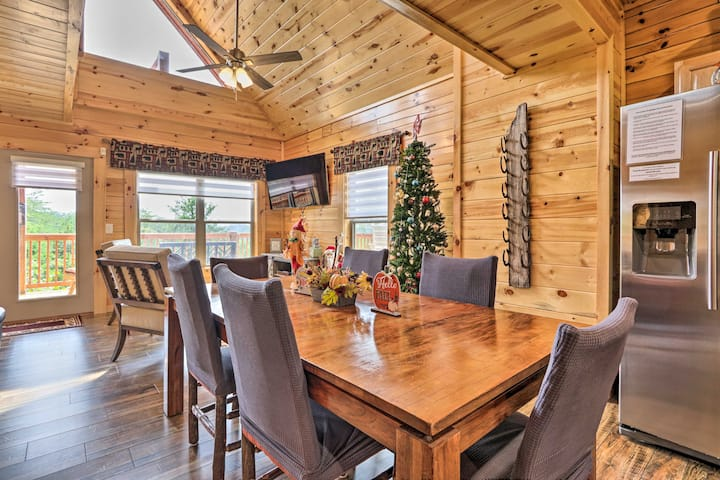 NEW! Douglas Lake Resort Cabin w/ Deck & Game Room