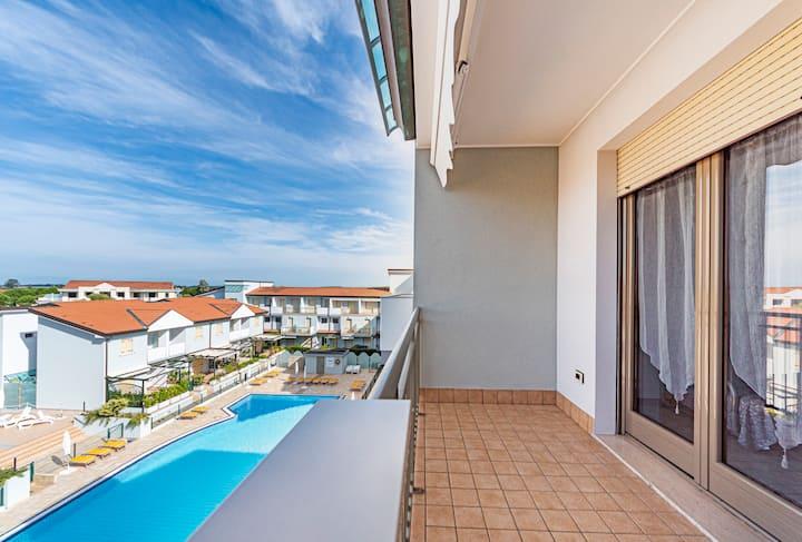Appartamento mare caorle con piscina e wi-fi