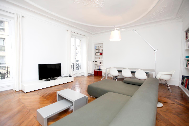 2bd apartment Bastille-Marais 90m2