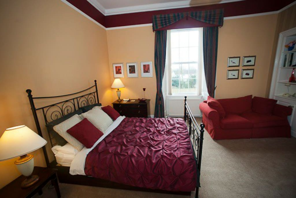 This beautiful room is ideal for families - the sofa converts to a double bed