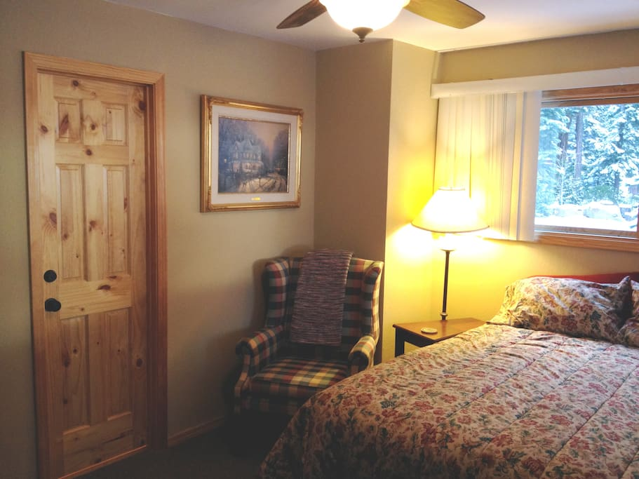 Master Bedroom door on left is bath