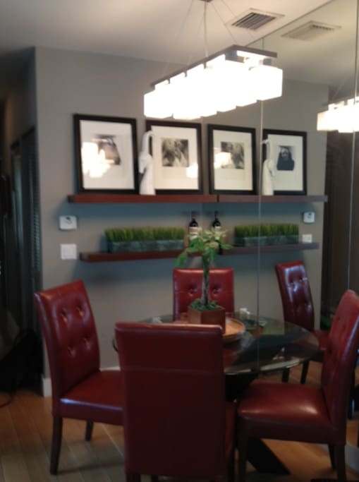 Cozy and comfortable custom furnishings throughout - an apartment to enjoy every minute of the day