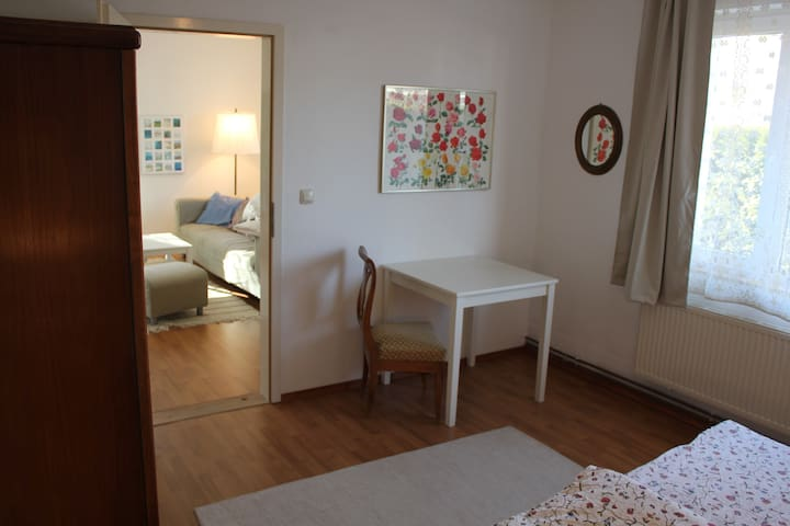 Wohnung mit Garten und Sauna