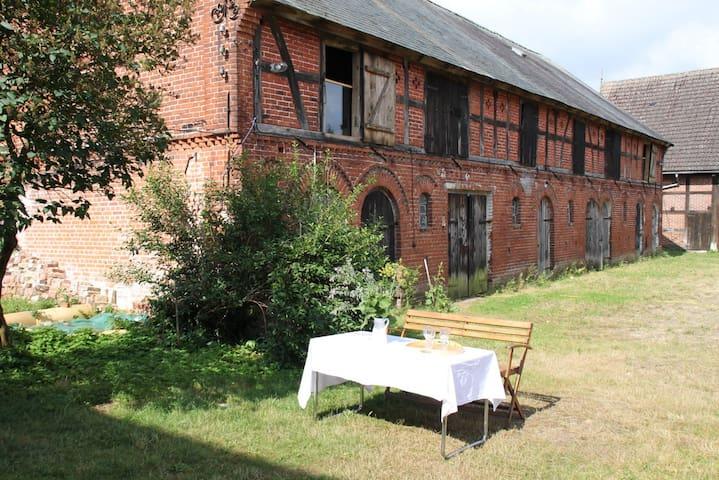 Zimmer auf Vierseit-Hof | Prignitz Elb-Radweg Nähe - Bad Wilsnack - Inny